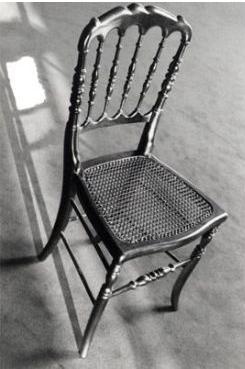 菱形棱格靈感來自,一張拿破崙3世的椅子。