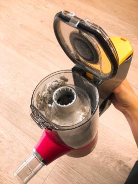 再怎麼乾淨的空間都還是能清出一些粉塵。