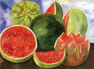 frida-kahlo-watermelons-painting-viva-la-vida-meaning